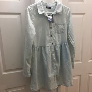 UrbanOutfitters BDG Vintage button down Jean dress